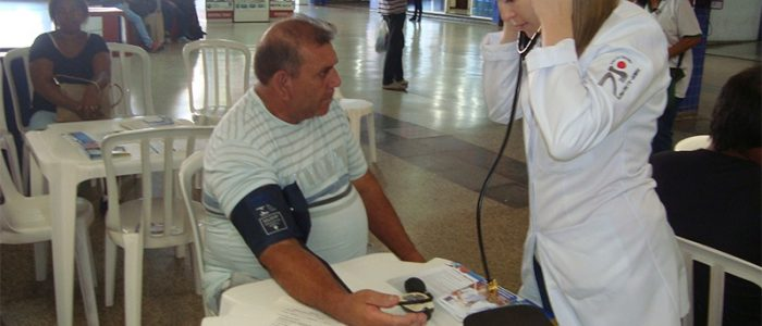 Dia Nacional de Combate à Hipertensão Arterial no Terminal Rodoviário de Ribeirão Preto - Socicam